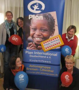 Die Bremer Aktionsgruppe gratuliert am 20.03.2012