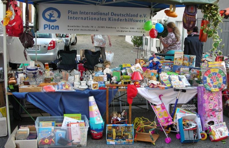 Plan-Aktionsgruppen » Biberacher AG – Einen Flohmarkt wie