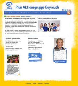 Homepage AG BTH