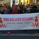 One Billion Rising Tanz-Flashmob