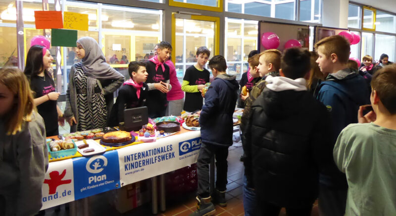 AG Wilhelmshaven Friesland Schule Plan International,