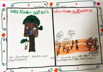 AG Wilhelmshaven, Red Hands, Kindersoldaten, Krieg, Frieden, Plan International,