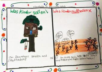AG Wilhelmshaven, Red Hands, Kindersoldaten, Krieg, Frieden, Plan International,