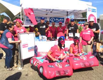 Pink Glitzerflitzer Plan International, Kinderhilfswerk,