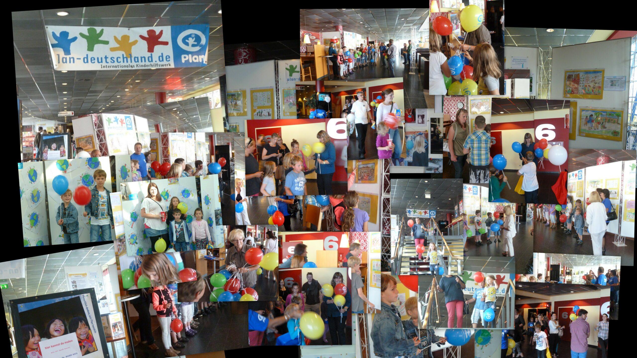 """Ausstellung """"Kinderwelten"""" 2013 in der UCI-Kinowelt Wilhelmshaven."""