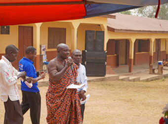 Festakt zur Open Defecation Free Community.