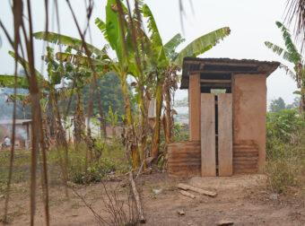 Vorbildliche Toilette.