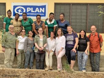 Plan-Frewillige in Ghana.